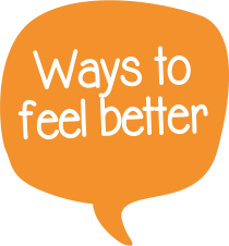Ways to feel better icon
